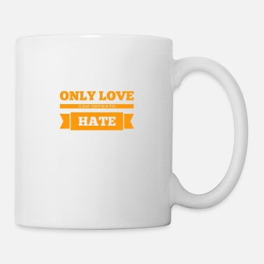 Orange Love is the way - Mug
