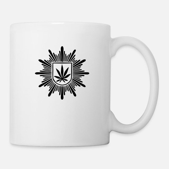 Hemp Mugs & Drinkware - Federal Hemp protection (pure) - Mug white