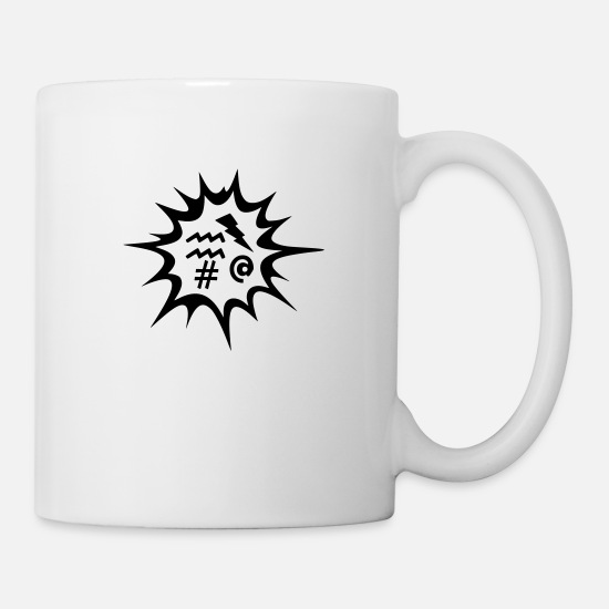 Protest Mugs & Drinkware - Rage - Mug white