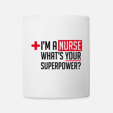 Nurse Superpowered Nurse - Mug