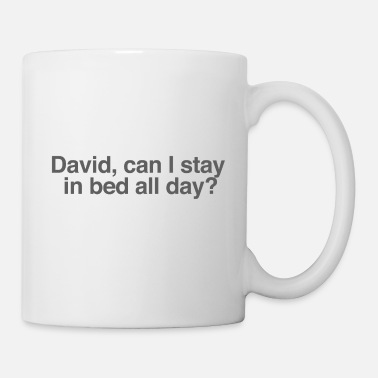 Stay In Bed All Day? - Mug