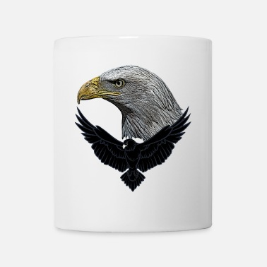 Animals Nature Eagle head, birds, animals, nature, animal lovers, nature, - Mug