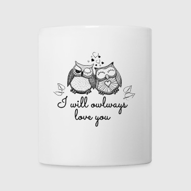 i will owlways love you owls będę owlways miłość ty sowy - Kubek