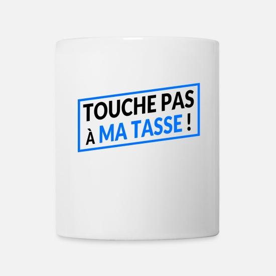 Blanc Tasse Pas Ma Touche Mug n0y8wvONmP