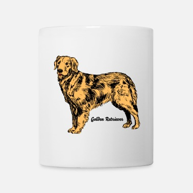 Golden Retriever Hund Golden Retriever - Tasse