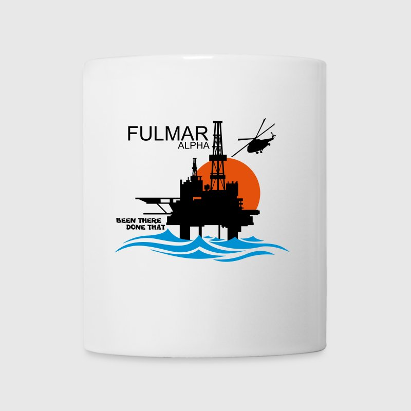Fulmar Alpha Oil Rig Platform North Sea Aberdeen - Mug