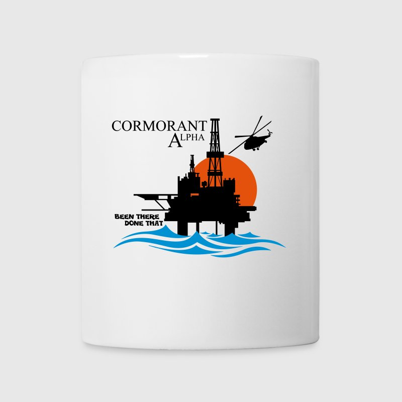 Cormorant Oil Rig Platform North Sea Aberdeen - Mug