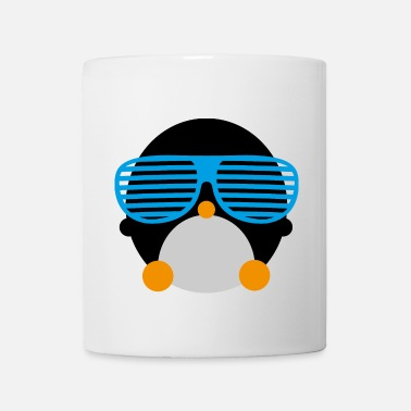 penguin glasses pingwin okulary - Kubek