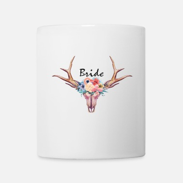 Celibenubile bride_tribe_boho_scull_1 - Tazza