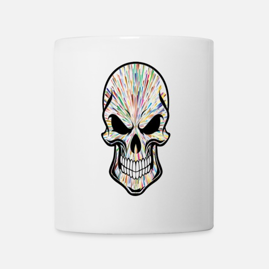 Wonderful Mugs & Drinkware - Skull - Mug white