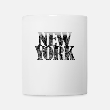 Central Park New York Urban Syle White/Grey Edition - Tasse