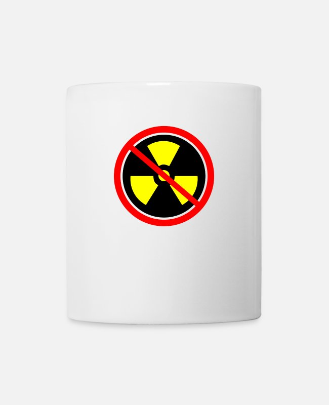 Chernobyl Mugs & Drinkware - Anti nuclear power Nuclear power stations Nuclear energy Atomic energy - Mug white