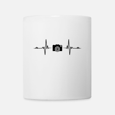 Camera Heartbeat camera photographer photography EKG gift - Mug