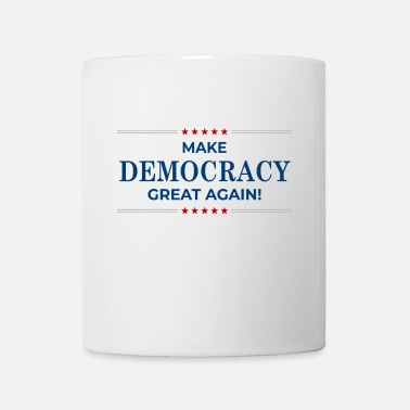 Campaign Make Democracy Great Again - US Election - Mug