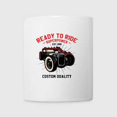 Ready to Ride a V8 Muscle - Tasse