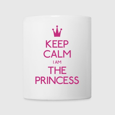 keep calm princess mantenere la calma principessa - Tazza