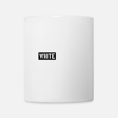 Stempel White on white - Tasse