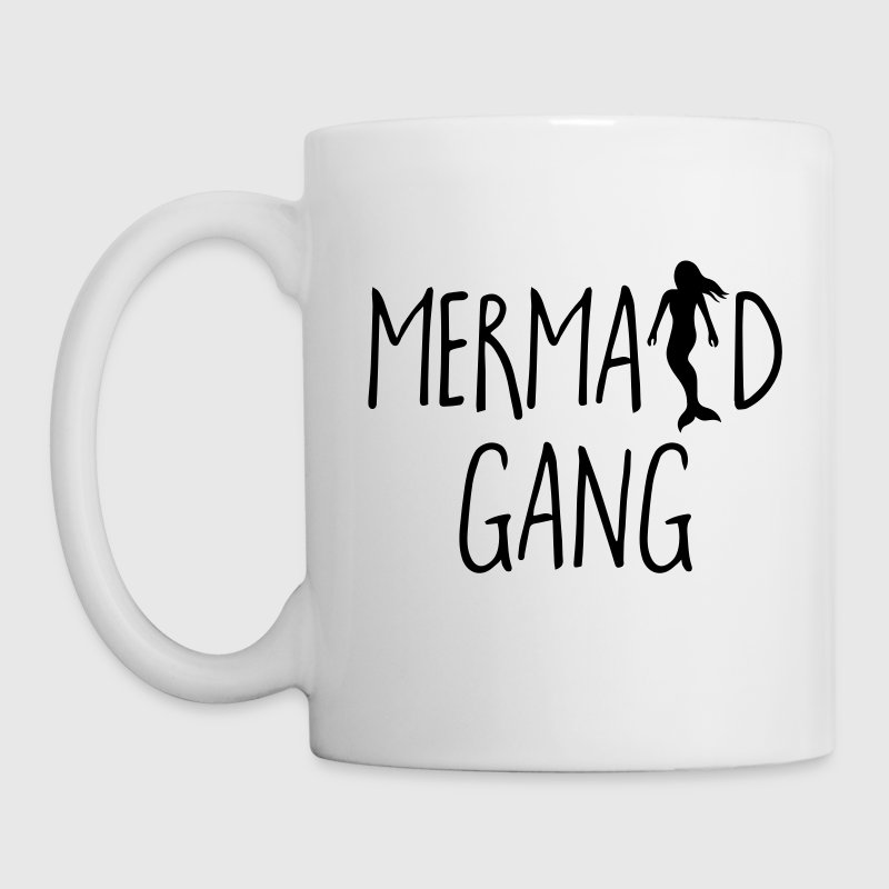 Mermaid Gang Funny Quote - Taza