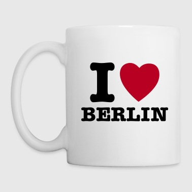 I Love Berlin - I Heart Berlin - Tazza