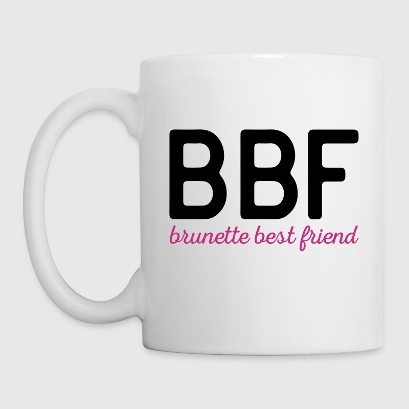 Brunette Best Friend Funny Quote - Mug