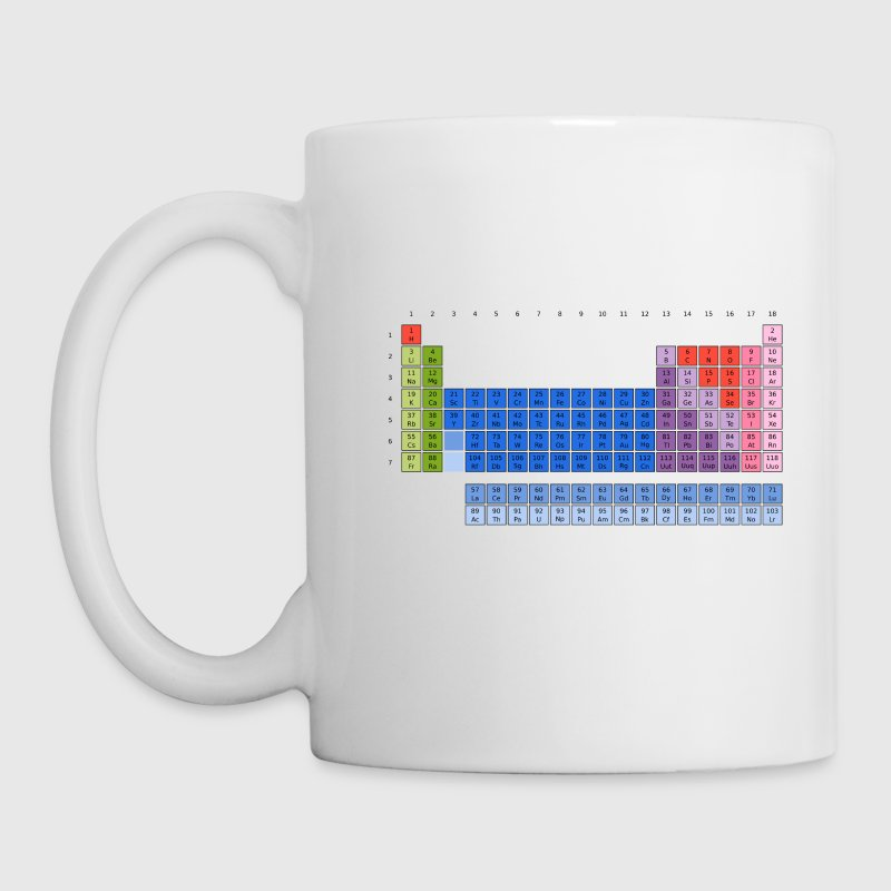 Periodic Table of the Elements - Mug blanc