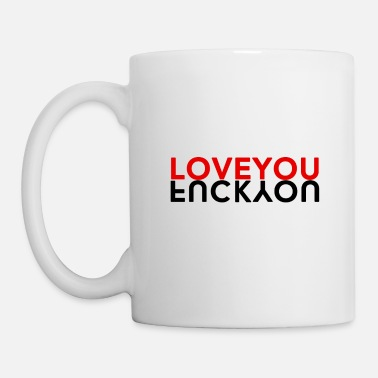Fuck You LOVE YOU & FUCK YOU - Mug blanc