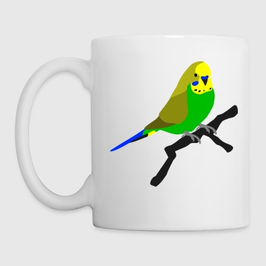 Wellensittich Welli Wellensittich Vogel - Tasse