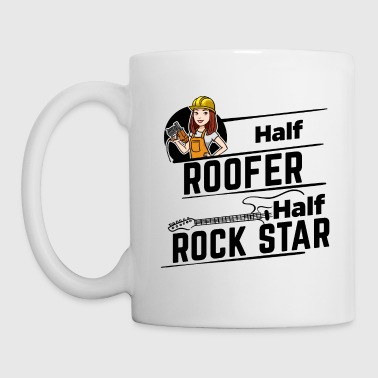Roofer femenino - Half Rock Star - Taza