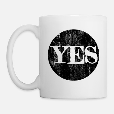 Ja Yes! Yes! Ya! Yeah! Optimism positive thinking - Mug
