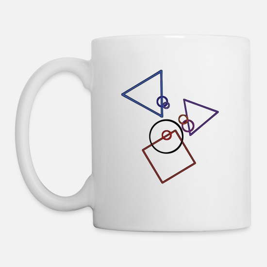 Symbol  Mugs & Drinkware - Geometry logo - Mug white