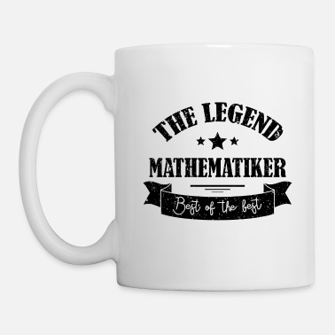 Uni The Legend Mathematiker Geschenk - Tasse