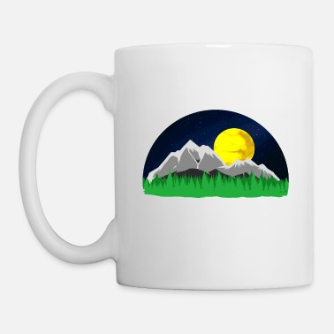 Mountains Mountains Mountains mountains - Mug
