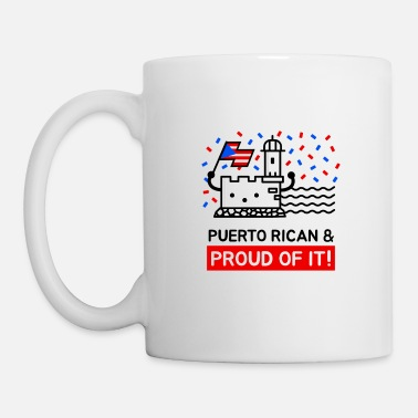 Monument Puerto Rican and Proud Of It - Mug