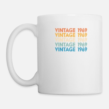 Purple Vintage 1969 50th Birthday gift for women and men - Mug