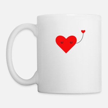 Love With Heart Loving heart - Mug
