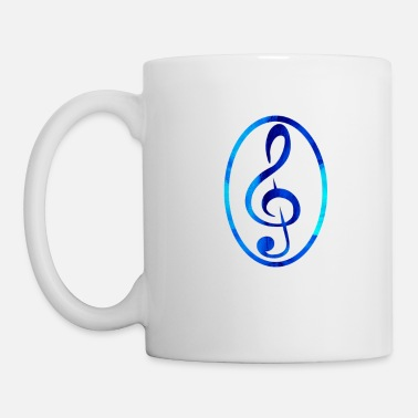 Watercolor clef - Mug