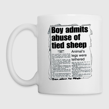 ABUSE OF SHEEP - Mug blanc