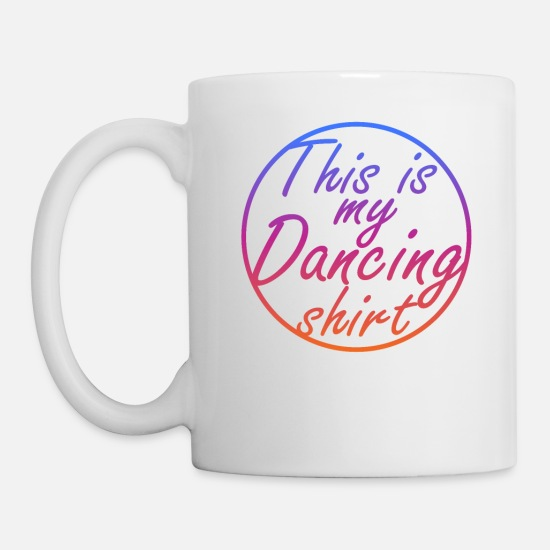 Street Dance Mugs & Drinkware - Dance - Mug white