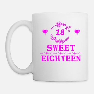 Eighteen Sweet eighteen - Mug