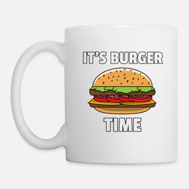 Cheeseburger Burger Fast Food Cheeseburger Hamburger Gift - Mug
