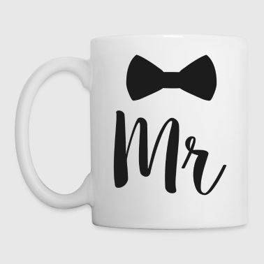 Newlyweds Mr Bowtie For Husbands - Mug