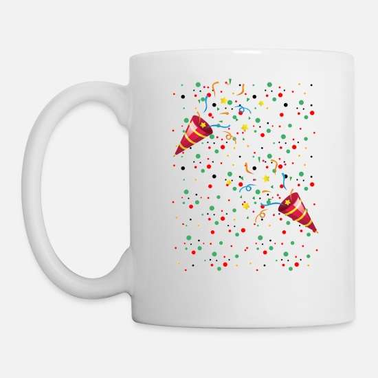 Alcohol Mugs & Drinkware - Hapy New Year 2020 - Mug white