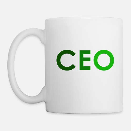 Sayings Mugs & Drinkware - CEO - Mug white
