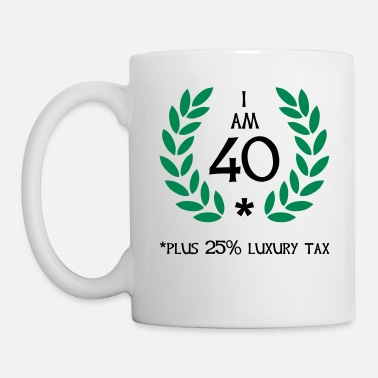Irony 50 - 40 plus tax - Mug