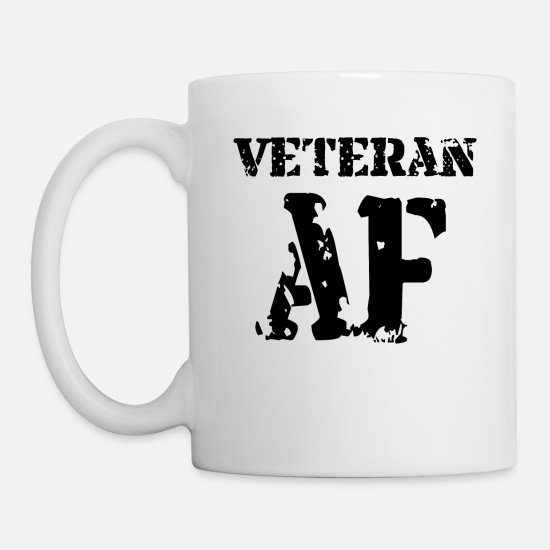 Royal Mugs & Drinkware - Veteran - Mug white