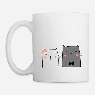 Wedding Couple Cats Couple Couple Couple Wedding Couple Wedding - Mug