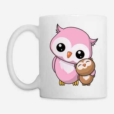 Siblings Owls siblings - Mug