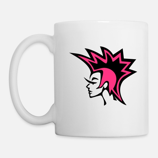 Punk Mugs & Drinkware - Craft Punk - Icon Pink - Mug white
