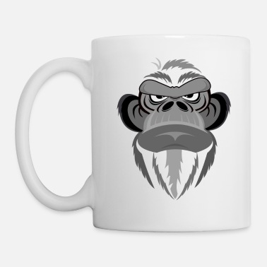 Mug Tête Animal Thermos De Blanc Singe 8nw0mN
