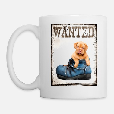 wanted puppy - Mug